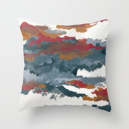 clouds_august Throw Pillow