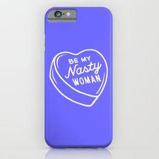 Nasty Woman Valentine - Blue iPhone 6s Slim Case