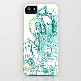 Ghost in the Shell 03 iPhone Case