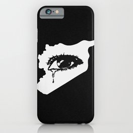 Mourn With Me iPhone Case