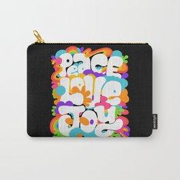 peace love joy Carry-All Pouch
