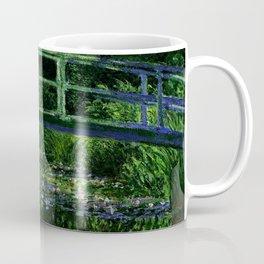 The Water Lily Pond Deep & Dark Coffee Mug