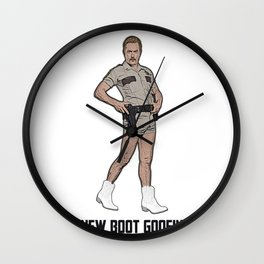 New Boot Goofin' Wall Clock