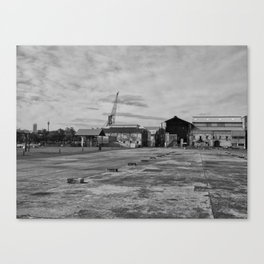 Urban Island Exploration Canvas Print