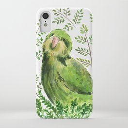 Kakapo in the ferns iPhone Case