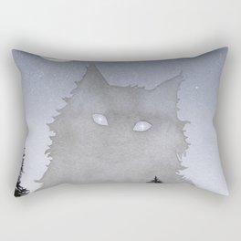 Giant Forest Cat Rectangular Pillow