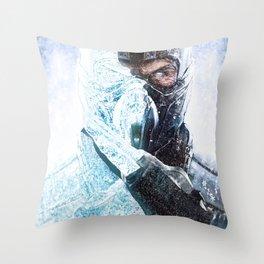 sub zero Throw Pillow