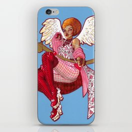Cupid's Crosshairs iPhone Skin