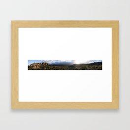 Cederberg sunset Framed Art Print