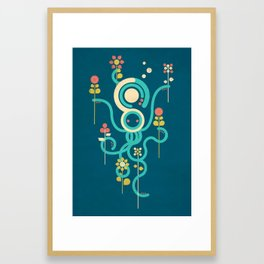 The Gardener Framed Art Print
