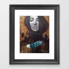 Marie-Bleue Framed Art Print