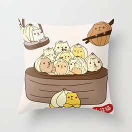 Xiao Long Bao Throw Pillow