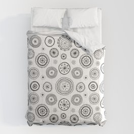 ditsy cirlces Comforters