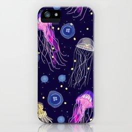 Starry Night Jellyfish  iPhone Case