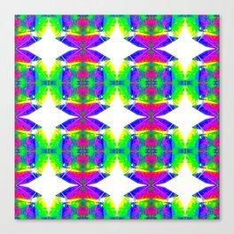 Technicolour Starburst 9 Canvas Print