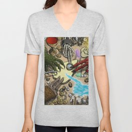 Ouija Monster! Unisex V-Neck