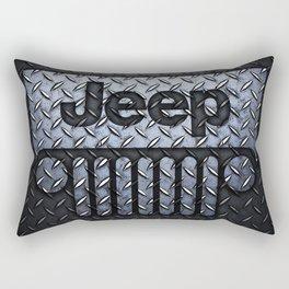 jeep logo Rectangular Pillow