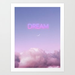 Are you dreaming now? Art Print