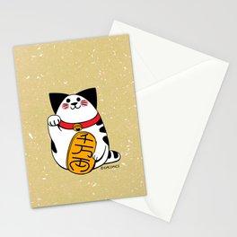 Teh as Maneki Neko Cat Stationery Cards