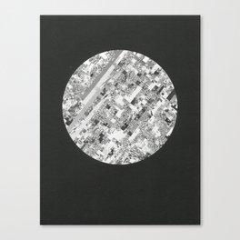 Techno Morning. Canvas Print