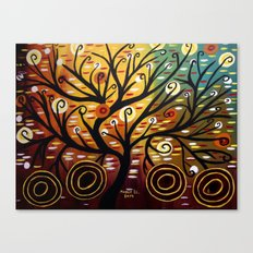 Abstract tree-9 Canvas Print