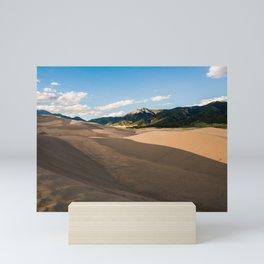 Great Sand Dunes, CO Mini Art Print