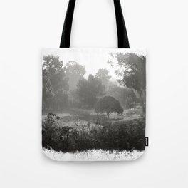 Foggy Path Tote Bag