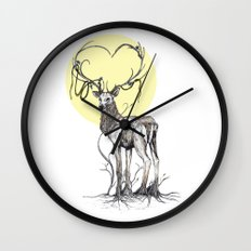 Rooted Wall Clock