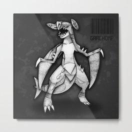 Garchomp Metal Print