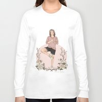 coconutwishes Long Sleeve T-shirts featuring Peaceful by Coconut Wishes