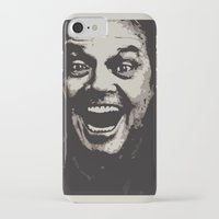 jack nicholson iPhone & iPod Cases featuring jack nicholson by zarna