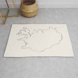 Iceland Outlines Rug