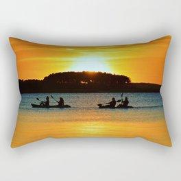 Two Tandems Rectangular Pillow