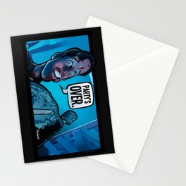 Party's Over Stationery Cards