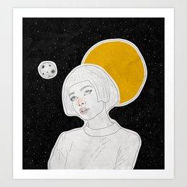 dreamer. Art Print