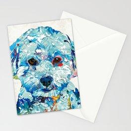 Small Dog Art - Soft Love - Sharon Cummings Stationery Cards