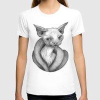 sphynx T-shirts featuring Sphynx by Tim Van Den Eynde