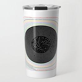 Grooves Travel Mug