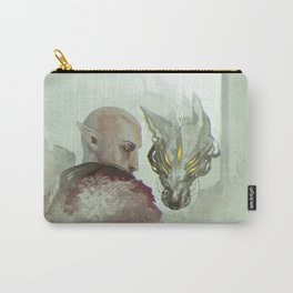 He Walks Alone Carry-All Pouch