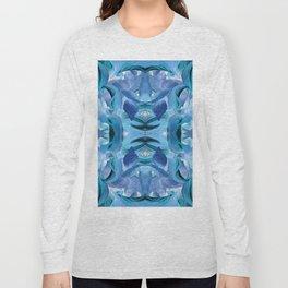 510 - Abstract Garden Design Long Sleeve T-shirt