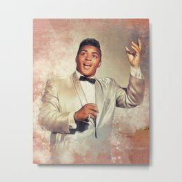 Solomon Burke, Music Legend Metal Print