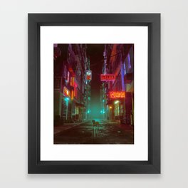 YEAR OF THE DOG (everyday 05.01.18) Framed Art Print
