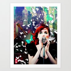 Transistor - Before We All Become One… Art Print