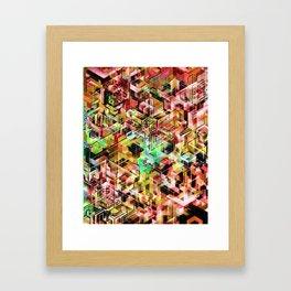GeoPattern 22023002 Framed Art Print