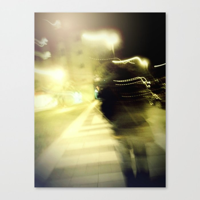 Walking Canvas Print