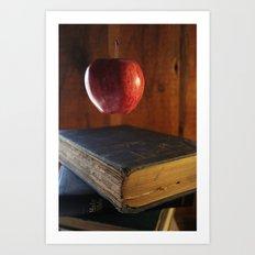 floating knowledge Art Print
