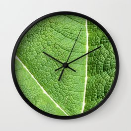Mammoth Sheet Rhubarb Wall Clock