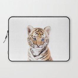 Baby Tiger Cub Portrait Laptop Sleeve