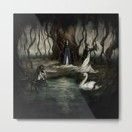 The Norns Metal Print