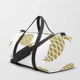 Golden pineapple pattern Duffle Bag